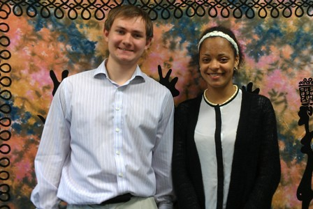 Welcome to our Summer Interns 2014: Joseph Lyons and Nicole Ngambwa