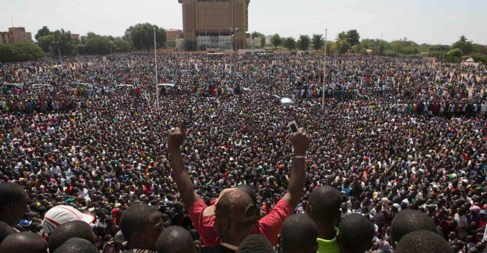 A Nation's Journey from Tyranny to Democracy, the 2014 Popular Revolution  in Burkina Faso