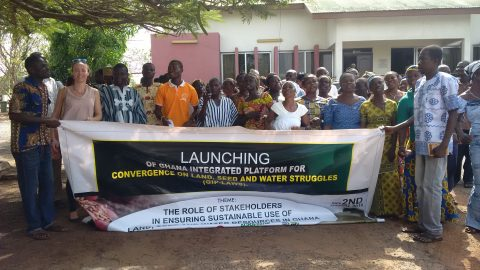 West Africa Advocacy Caravan for Land, Water and Seeds sovereignty