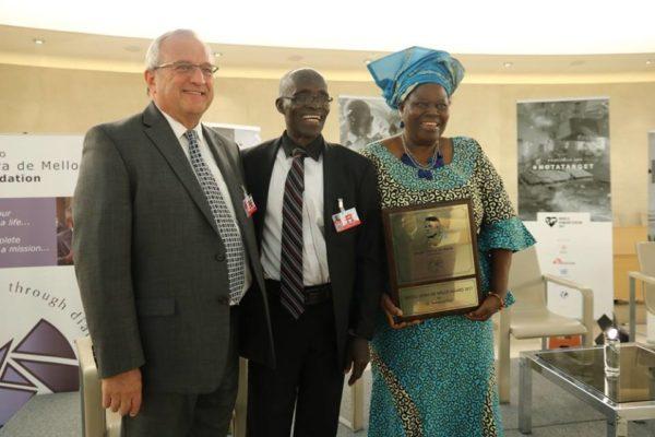 Nigerian Wins Humanitarian Award for Work with Boko Haram Abductees