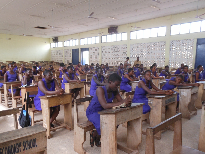 Secondary School Now Free in Ghana