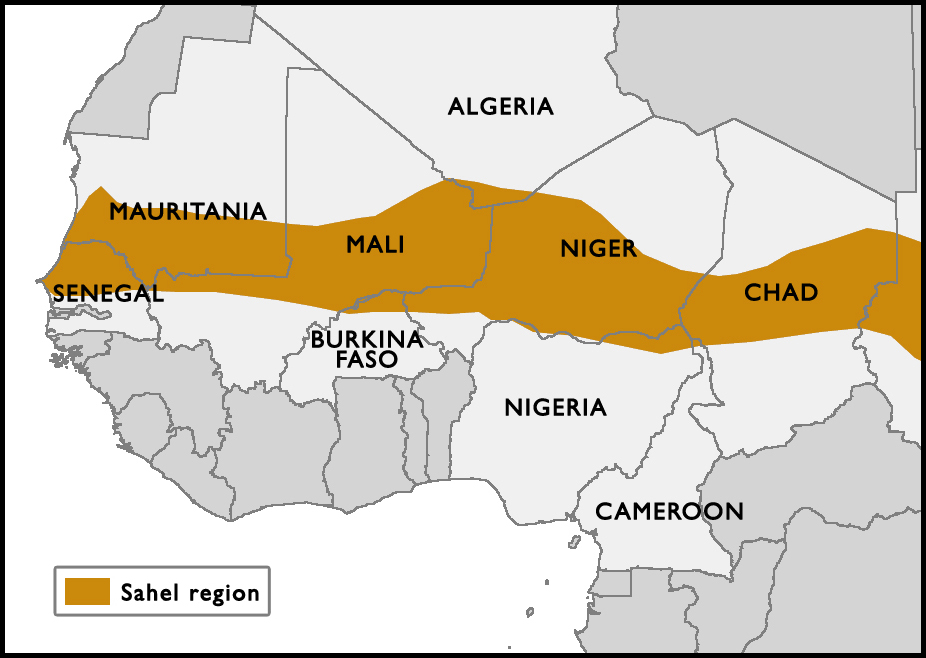 U.S. Military Presence and Activity in Africa: Sahel Region