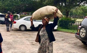The Moving story of Kindness after Cyclone Idai's devastation in Zimbabwe
