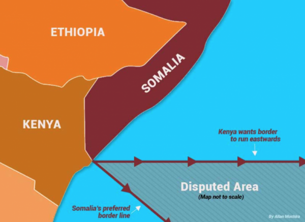 Somalia and Kenya Maritime Boundary Dispute now at the International Court of Justice