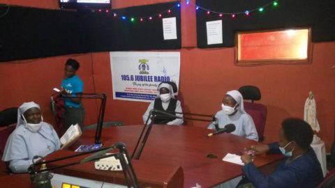 AFJN-Uganda on Jubilee Radio Talking About Domestic Violence Amid COVID-19